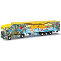 Camion semi-remorque Scania...
