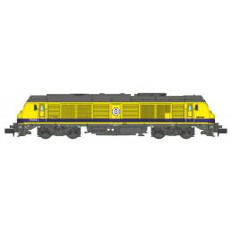 Locomotive Diesel TSO n°75019