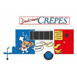 Food truck crêpes