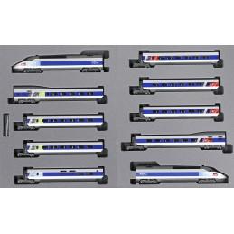TGV Réseau complet