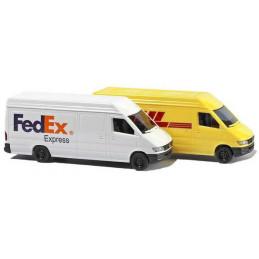 Mercedes sprinter FedEx & DHL