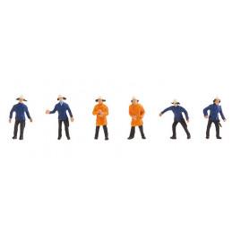 Pompiers 4 en uniforme...