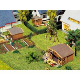 3 Pavillons de jardin