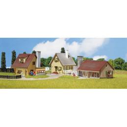 3 Maisons individuelles