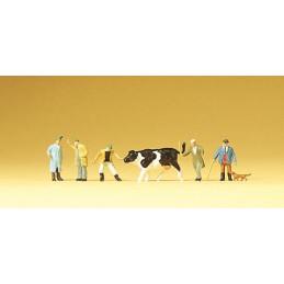 Au marché à bestiaux