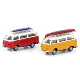 Set de 2 VolksWagen T2,...