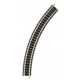 Rail courbe, R1, 45°