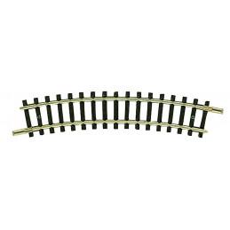 Rail courbe, R1, 24°