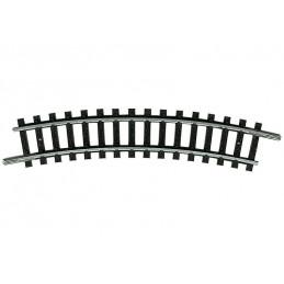 Rail courbe R1 24 °