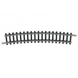 Rail courbe R4 15 °