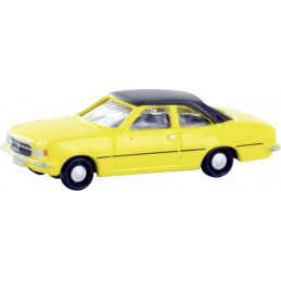 Opel Record D Coupe, jaune
