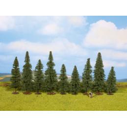 9 arbres