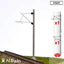 SNCF - Poteaux en H à...